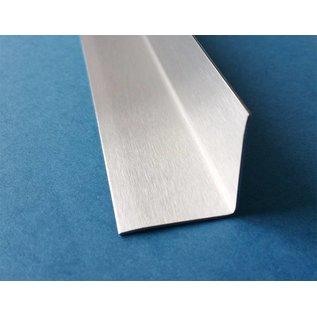 Versandmetall RVS 304 Hoekbeschermer roestvrij Staal Binnenhoek Lengte 1500 mm gelijkzijdig gezet 90°
