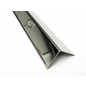 Versandmetall Kantenschutzwinkel 3-fach gekantet ungleichschenkelig Länge 2.500mm aussen Schliff K 320