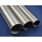 Versandmetall Tube ronde inox  en acier inoxydable rond 76,1x2mm Acier inoxydable 1.4301 surface brossé en grain 240