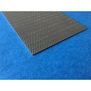 Versandmetall Lochblech 1,0mm Rundloch 1,5mm, Teilung versetzt 2,5mm Schnittkanten offen