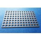 Versandmetall Vierkant geperforeerd metaal 8x8mm roestvrij stalen staaf 4mm, snijranden dicht
