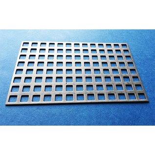 Versandmetall Vierkant geperforeerde roestvrij staal Qg 8-12 (8-vierkant gat in serie en 4 mm baanbreedte)