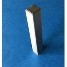 Versandmetall Pièce d'extrémité, embouts de râteau stables en acier inoxydable 130-250mm