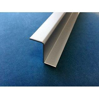 Versandmetall Z-Profiel Aluminium gezet tot Breedte c 30 mm Lengte 2500 mm