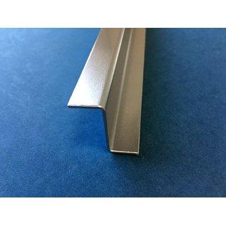 Versandmetall Z - Profiel Aluminium gezet tot Breedte c 30 mm Lengte 1000 mm