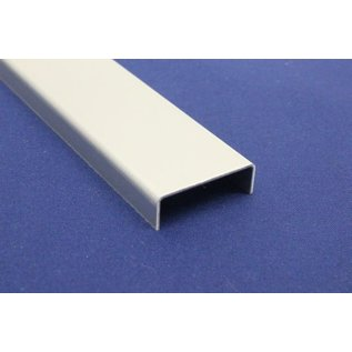 Versandmetall U-Profil aus Aluminium gekantet bis Breite c= 30 mm und Länge 1250 mm