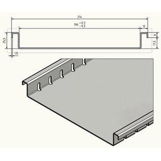 Versandmetall Drainagerinne aus Aluminium Einlaufbreiten 90 bis 190mm Linienentwässerung von Oberflächen