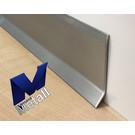 Versandmetall Plintplint Plint 1,0 mm 2x rand Roestvaststalen buitenzijde korrel 320