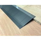 Versandmetall Ausgleichsprofil Übergangsleiste 2,0mm 1.4301 IIID spiegeloptik 2-fach abgekantet