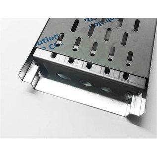 Versandmetall Versterking Serie A / B 190/45 in roestvrij staal - Voor sleufroosterinlaatbreedte 190 mm