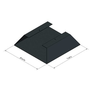 Versandmetall Legbord voor brandhout HEXAGON gemaakt van 3 modules met 2 Voetstukken van verschillende Maaten XL geproducered van staal oppervlakke poedercoated - Copy - Copy