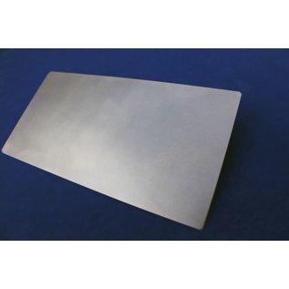 Versandmetall duune plaat, Staal, op maat gesneden, 25 tot 150 mm breedte en lengte 1500 mm