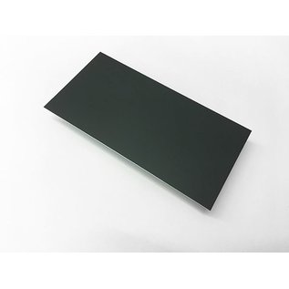 Versandmetall dunne plaat Aluminium 1,0mm  ( RAL 7016 ) van 25mm tot 300 mm Breedte en lengte 1000 mm met Folie