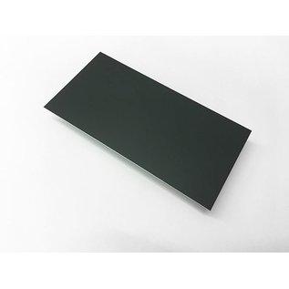 Versandmetall Aluminiumblech Zuschnitte Aluminium 1,0mm anthrazit ( RAL 7016 )  mit Schutzfolie bis Länge 1250mm