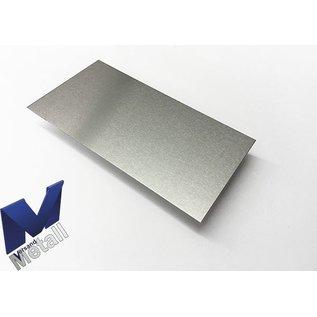 Versandmetall Aluminiumblech Zuschnitte Aluminium Al99,5 mit Schutzfolie bis Länge 1250mm