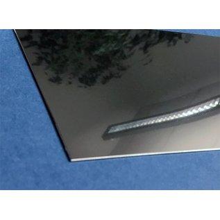 Versandmetall dunne plaat roestvrij staal, gesneden op Maat, Breedte 160 - 300 mm, Lengte 1000 mm, oppervlakke glanzend/spiegelnde