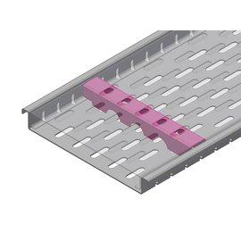 Versandmetall Verstärkung Serie F (Fx) 190/25 aus Edelstahl - Für Schlitzrost Einlaufbreite 190mm