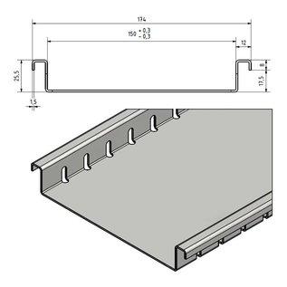 Versandmetall Drainagerinne aus Aluminium Einlaufbreiten 100 bis 200mm Linienentwässerung von Oberflächen