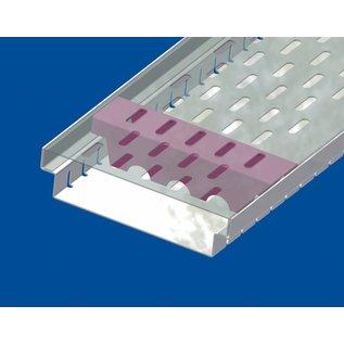 Versandmetall Versterking Serie A / B 200/45 in roestvrij staal - Voor sleufroosterinlaatbreedte 200 mm