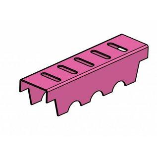 Versandmetall Verstärkung  Serie A/B 140/45 aus Edelstahl - Für Schlitzrost Einlaufbreite 140mm