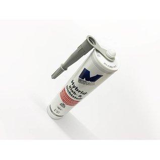 Versandmetall 8x High-Tech- Kleb- und Dichtstoff -8x 290ml, grau