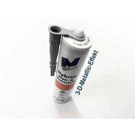 Versandmetall High-Tech- Kleb- und Dichtstoff -290ml, 3-D-Metall-Effekt