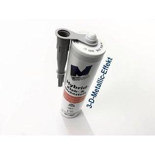 Versandmetall Hightech lijm en afdichtmiddel -290ml, grijs 3-D-Metall-Effekt