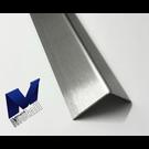 Versandmetall Hoek van de ingestelde scherpte 3 maal gevouwen opslaan 15 x 15 x 1,0 mm lengte 2000 mm K320
