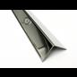 Versandmetall Kantenschutzwinkel 3-fach gekantet ungleichschenkelig Länge 1250mm aussen Schliff K 320