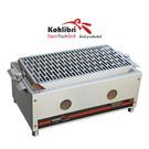 Versandmetall Kohlibri Stein Tisch Grill  stainless steel