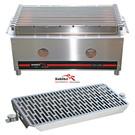 Versandmetall Kohlibri Stein Tisch Grill  stainless steel pro