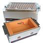 Versandmetall Kohlibri Stein Tisch Grill  inklusive Einlegestab-Grillrost