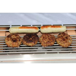 Versandmetall Einlegestab-Grillrost für den Kohlibri SteinTischGrill