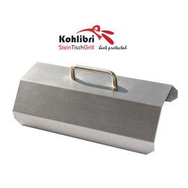 Versandmetall Grillhaube für den Kohlibri SteinTischGrill