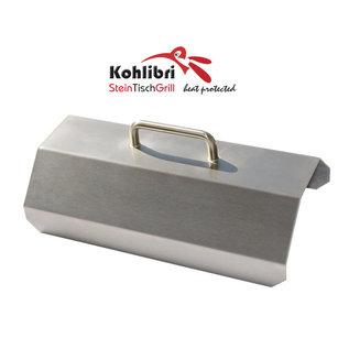 Versandmetall Grillkap voor de Kohlibri SteinTischGrill
