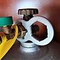 Manufaktur 3D Set van 2 grijze gassleutels voor terrasverwarmers, gasverwarmers, gaskanonnen, stralingsverwarmers, gasgrills, gasfornuizen, stacaravans, caravans, campers, drukregelaars, drukregelaars