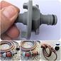 Manufaktur 3D Wassertankdeckel mit Anschluss für Gardena System,  Passend für Tankdeckel 2-Pin D:78mm