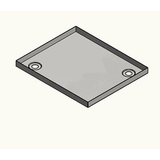 Versandmetall Edelstahl Duschwanne, Duschtasse { R1A } 1,5mm, INNEN  Schliff K320, Tiefe  900 mm, Breite 900 mm, 1 oder 2 Ablaufbohrungen,  Höhe 40mm