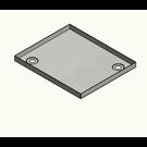 Versandmetall Receveur de douche en acier inoxydable, receveur de douche {R1A} 1,5 mm, coupe INTERIEURE K320, profondeur 700 mm, largeur 1000 mm, 1x trou de vidange dans le coin, hauteur 50 mm - Copy - Copy