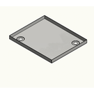 Versandmetall Roestvrijstalen douchebak, douchebak {R1A} 1,5 mm, INTERIEUR gesneden K320, diepte 700 mm, breedte 1000 mm, 1x afvoergat in de hoek, hoogte 50 mm - Copy - Copy