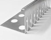 Kiesfangleisten aus Aluminium
