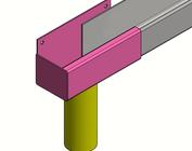 Goot profiel P1 en kanalen, bakgooten, van roestvrij staal