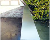 Mauer- Attikaabdeckungen  Alu natur oder Edelstahl