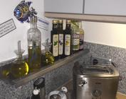 Küche Bad und Wohnen