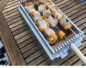 Coin barbecue barbecue