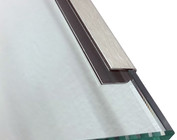 Roestvrij staal geschikt voor glas