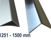 Hoekprofiel Hoeklijn Hoekstrip Aluminium tot 1500 mm (1,5 m) Lengte