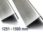 Corniere inox Acier inoxydable jusqu'à 1500mm ( 1,5m ) longueur