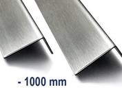 RVS Hoekprofiel Hoeklijn Hoekstrip Roestvrij staal tot 1000 mm (1m) lengte elke hoekafmeting moglijk