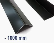 Aluminium anthracite jusqu'à 1000 mm (1m) de longueur